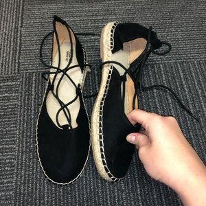 Black Espadrille Shoes
